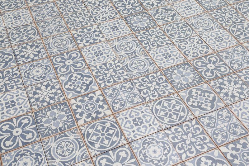 Tangier Blue Decor Tile 33x33cm In Tiling Ceramic Ebay Mit