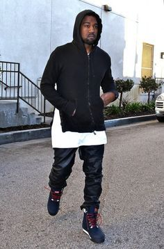 Kanye West Wearing Patta x KangaROOS Woodhollow Heritage Hiking Sneaker  Boots