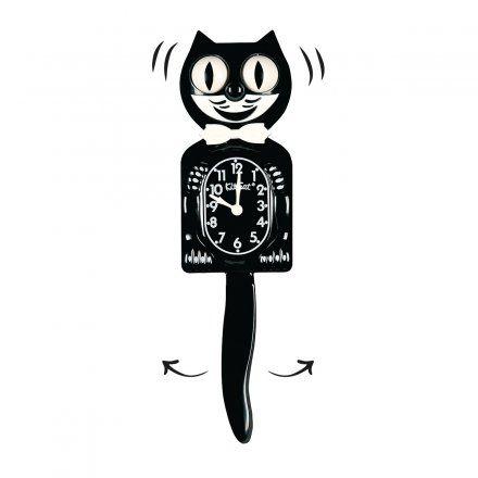 Wanduhr Kit-Cat Classic schwarz Cat - wanduhr für küche