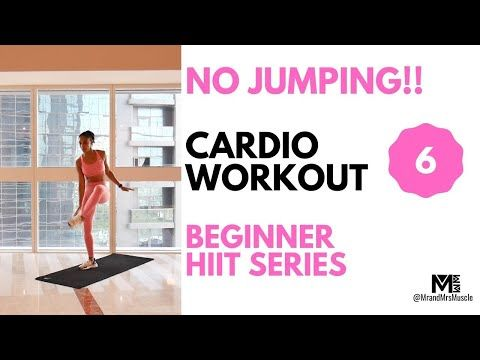 no jumping cardio workout at home // beginner hiit // mr
