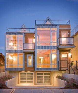 Excellent Modern Architecture Duplex In Seattle Architecture