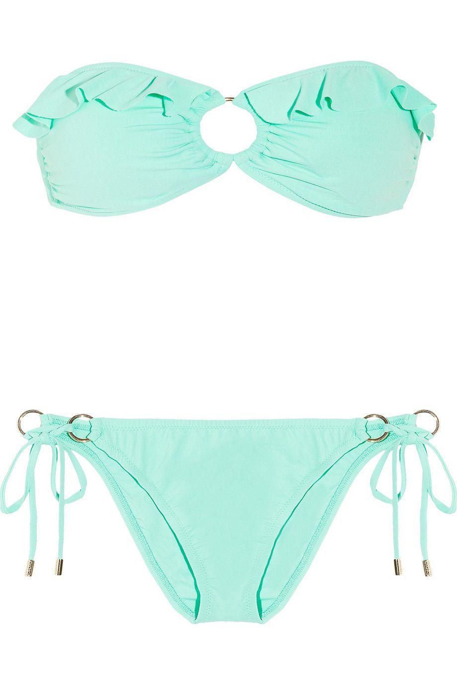 Verde Agua Bikinis Bikini Verde Trajes De Bikini
