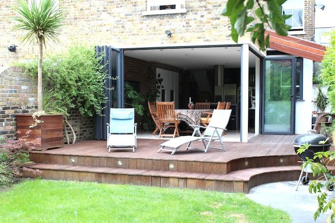 Lovely Modern House With Open Plan Kitchen Opening Onto Garden Location Partnership