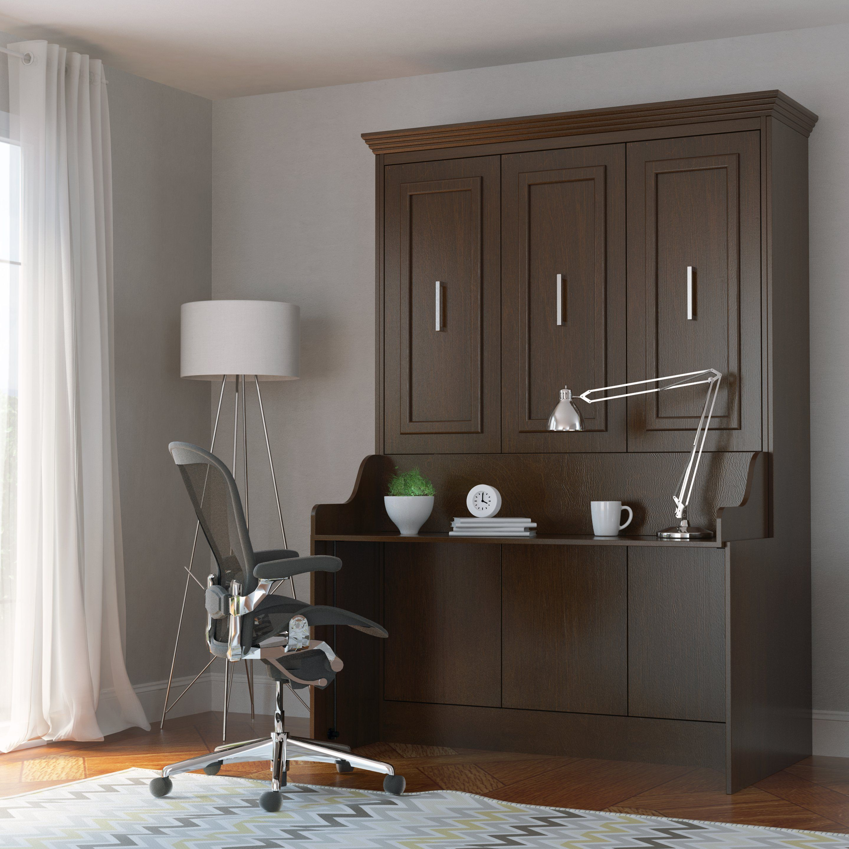 Murphy Bed with Desk Modern Furniture Sale Space