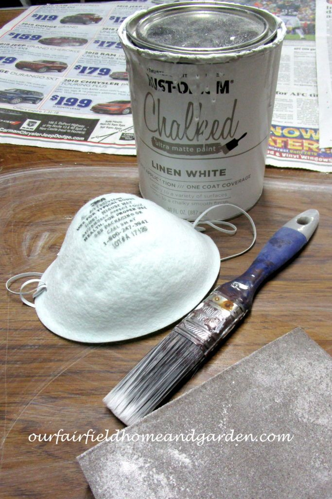 Chalk Paint Magic ~ There's Money in the Basement!