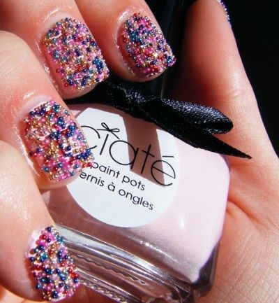 hot nail art for the new year 2015 3d nail polish multicolor new year