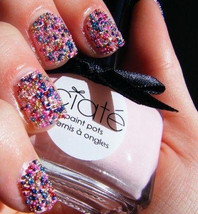 Hot nail art for the new year 2015 3d nail polish multicolor new hot nail art for the new year 2015 nail polish multicolor new year nail design prinsesfo Images