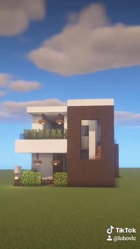 Modern House Minecraft [ Tutorial Youtube ]