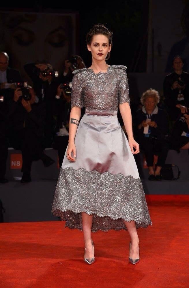 Kristen Stewart Chanel dress festival equals september 2015