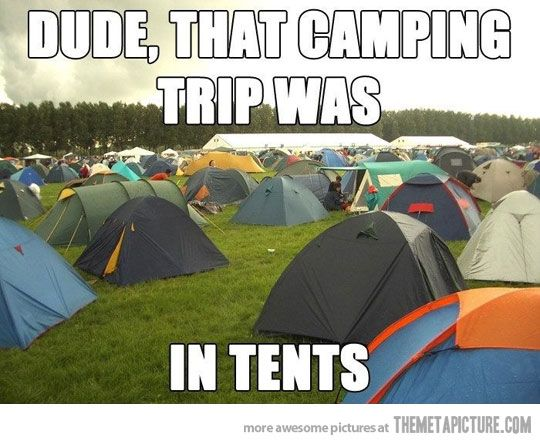 Image result for camping trip[ funny image