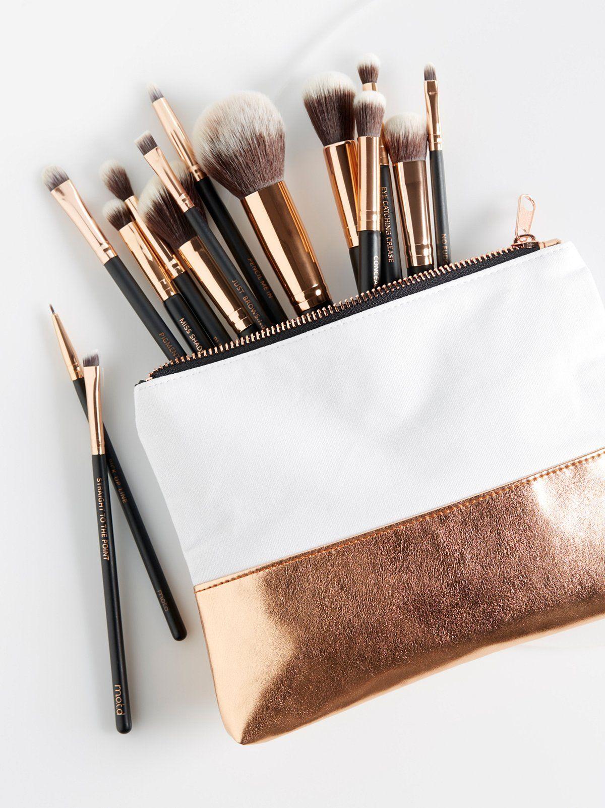Photo of M.O.T.D Cosmetics Lux Vegan Complete Brush Set