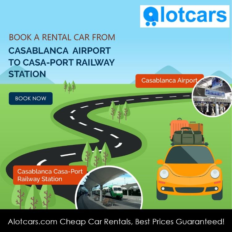 Book The Best & NEW Rental Car At Casablanca Airport To