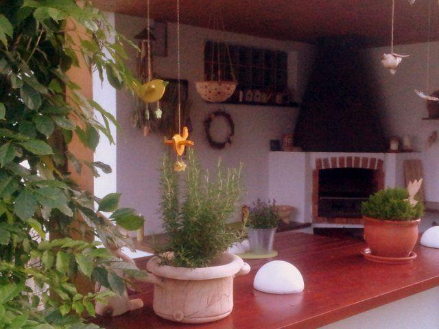 Hlinenka.blogspot - půlkulaté jakoby kameny jsou solární světla