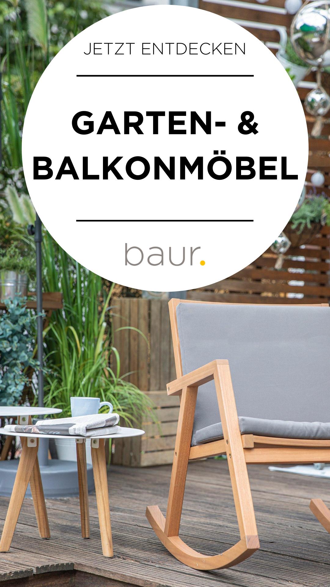 Möbel für Balkon und Garten auf baur.de entdecken #baur #garten #balkon #gartenmöbel #balkonmöbel