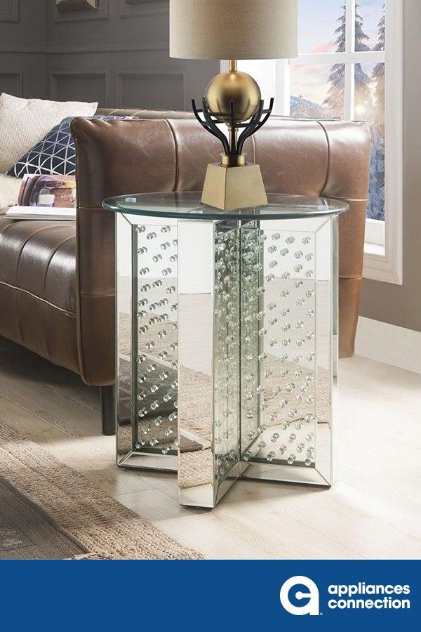 End Table demonstrates sophisticated, graceful and elegant