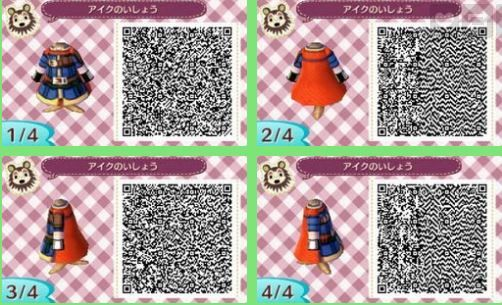 Pin By Bonnie H On Path Qr Codes For Animal Crossing New Leaf