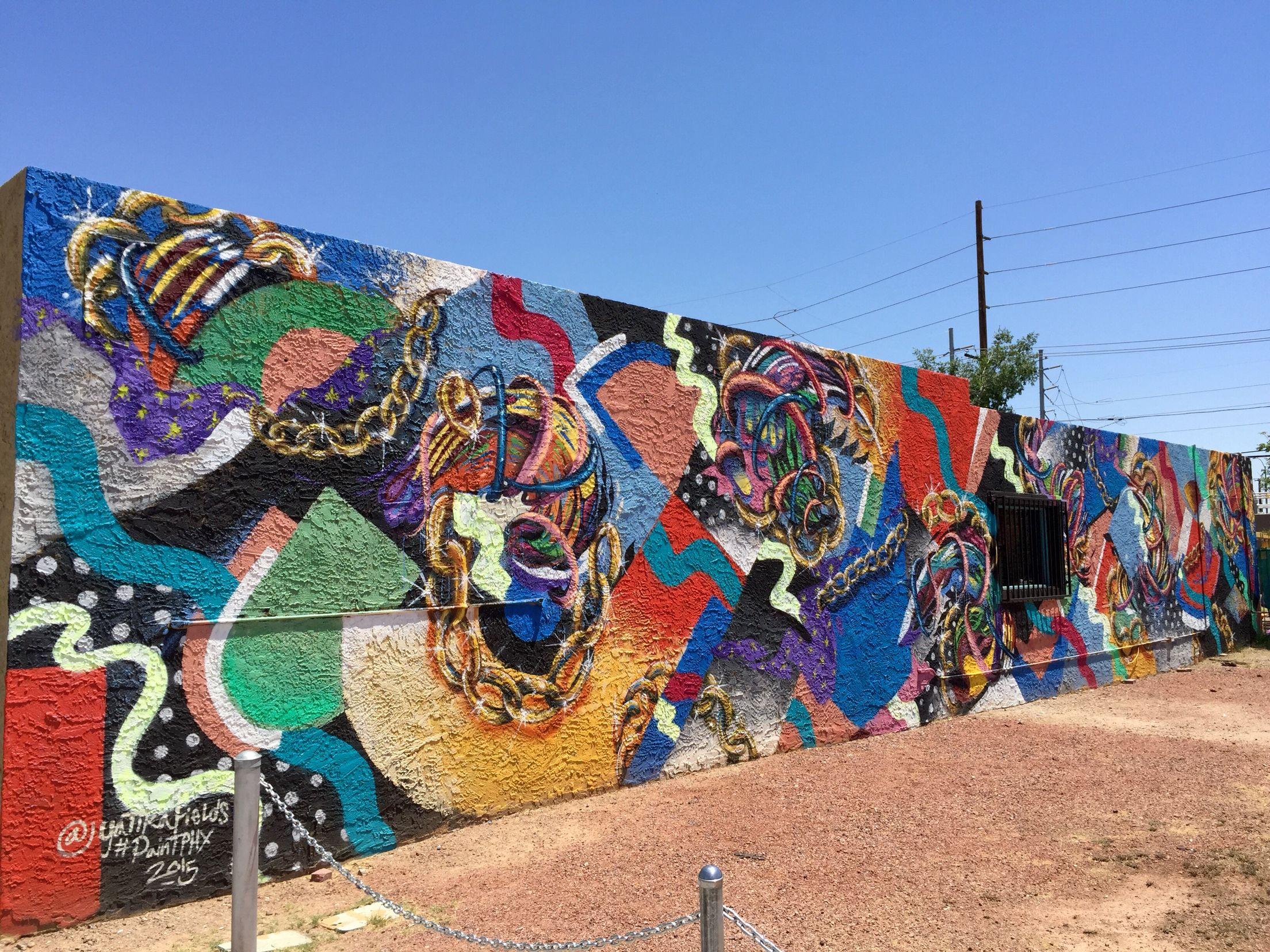 Roosevelt Row Art S District Downtown Phoenix Phoenix Az Wallart Urban Art Mural Street Art Urban Art Murals Street Art City Art