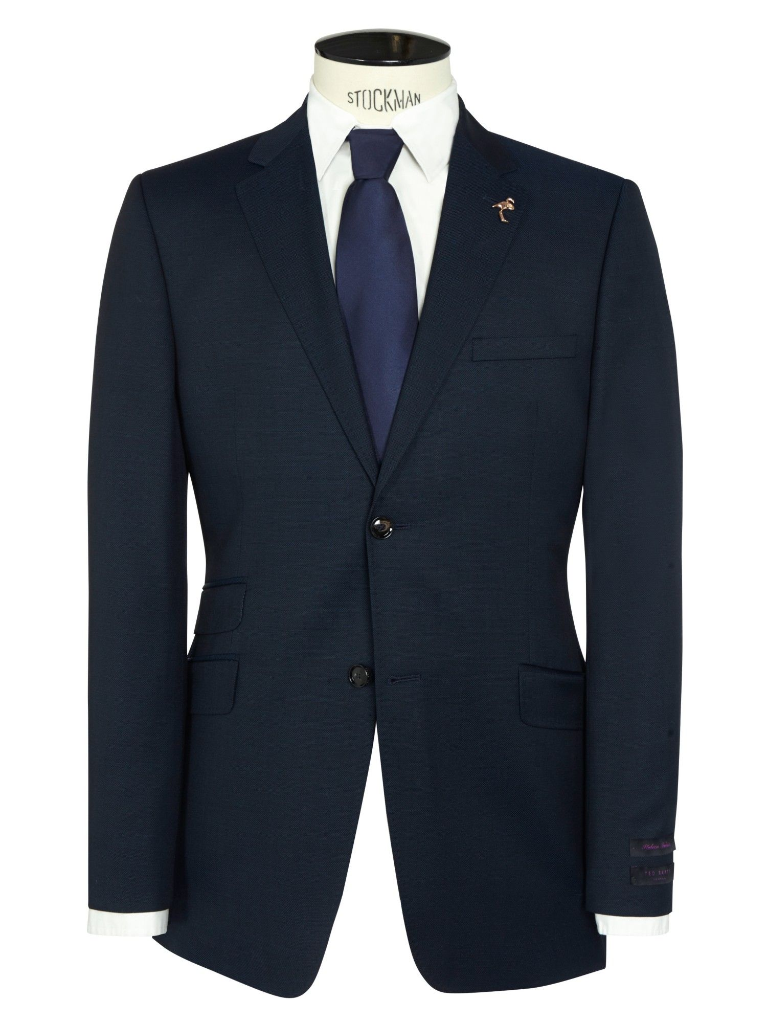 917ae4d9a Ted Baker Endurance Sterling Semi Plain Wool Suit Jacket