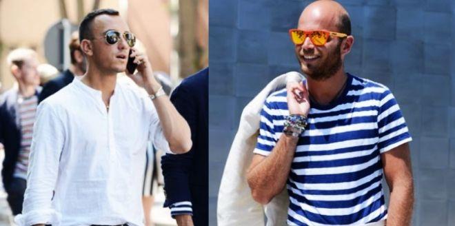 ON trend: a dos óculos espelhados