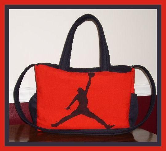 f41ee8b5dc918f Michael Jordan JUMPMAN new Diaper Bag custom made to order