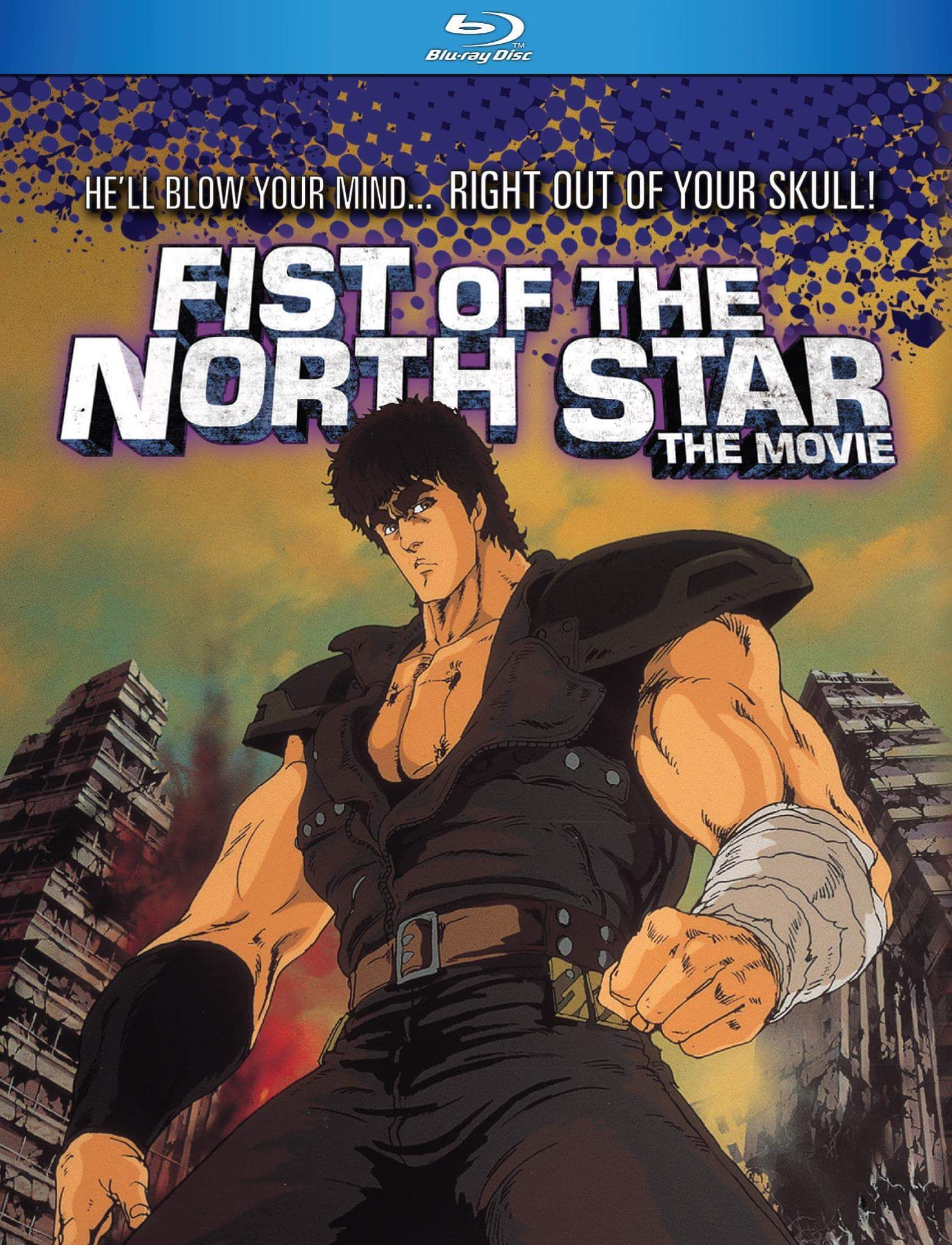 Fist of the north star the movie bluray north star