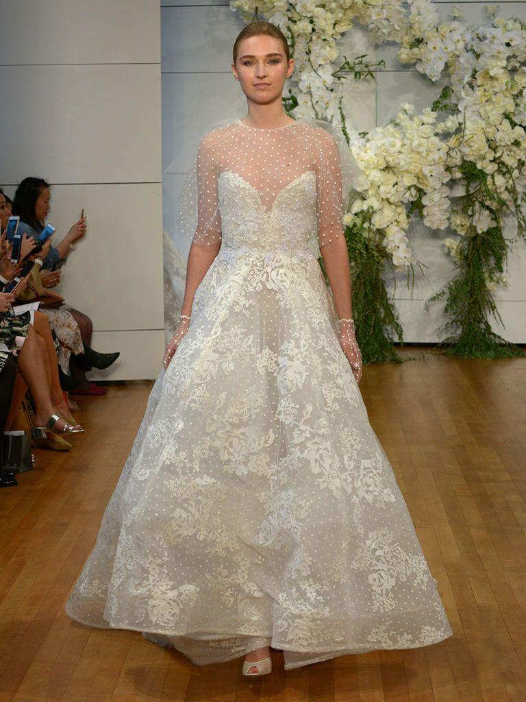 Romantic Wedding Dresses From Bridal Fashion Week | Monique ...