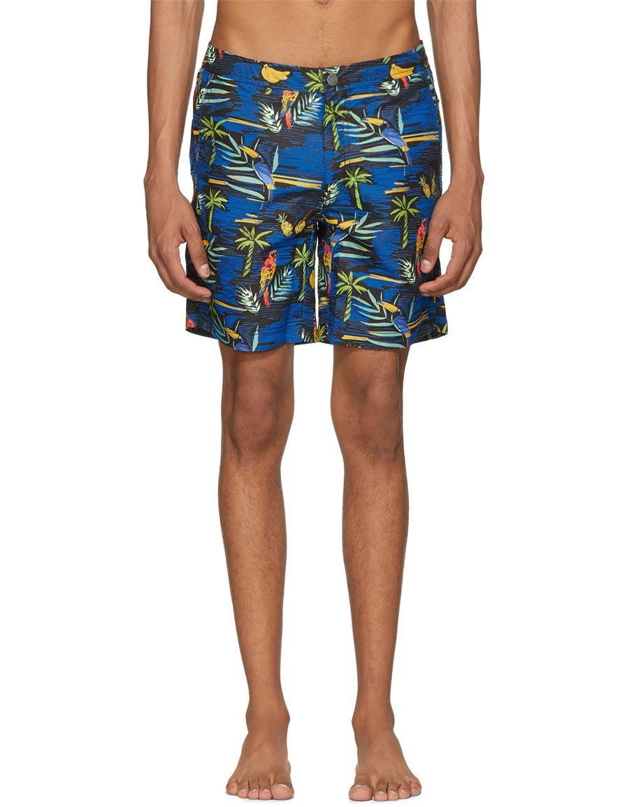 90a6f7fe2ef9 ONIA Black Island Convo Calder Swim Shorts · VERGLE