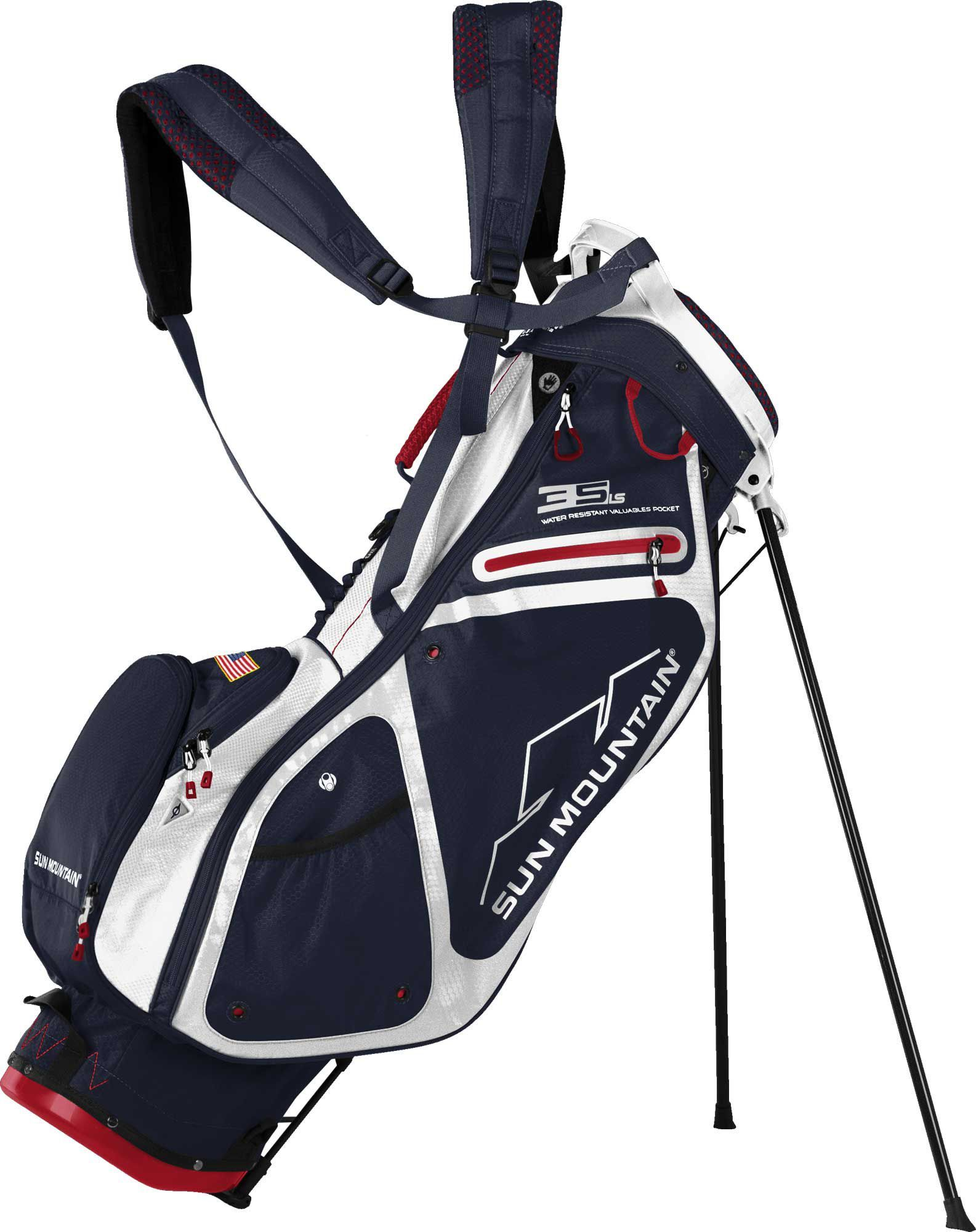 Sun Mountain 2017 3 5 Ls Stand Bag Blue Products Golf