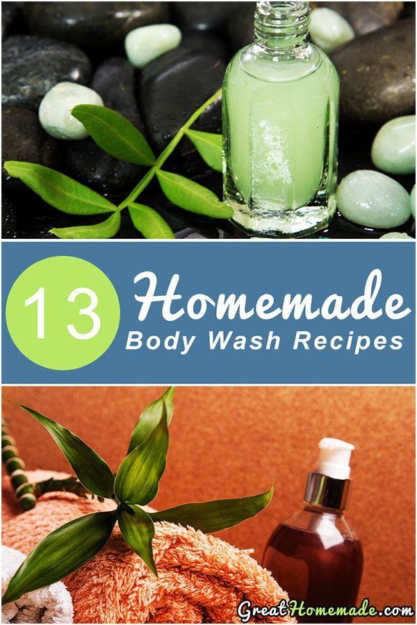 13 DIY Homemade Body Wash Recipes Homemade body wash