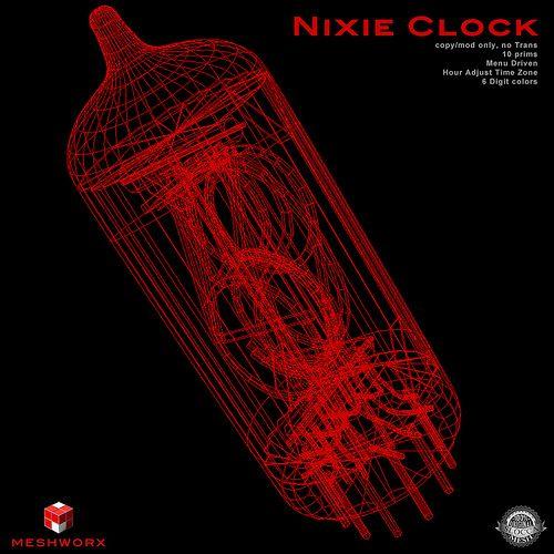 Coming Soon...! | MESHWORX | Nixie Clock at The MENs Dept