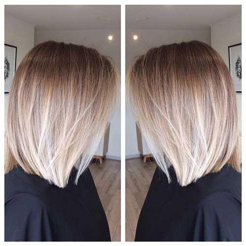 Bleiben Sie mit diesen Ombre farbigen Bob-Frisuren – Madame-Frisuren im Trend – …
