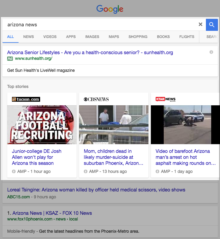 Google Accelerated Mobile Pages Browse Fast and Easily