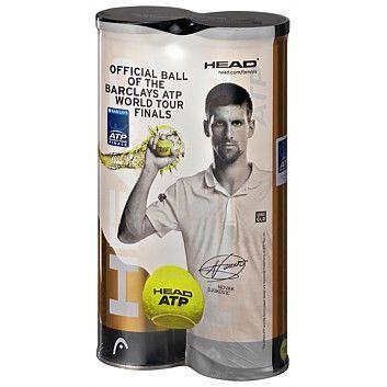 Head Atp Gold Tournament Tennis Ball 2x4b