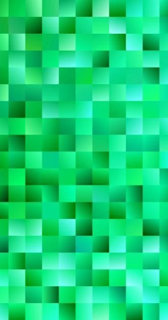 Download Green Abstract Square Background for free