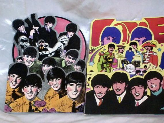 Beatles 1988 greeting cards fold out i love beatles pinterest beatles 1988 greeting cards fold out i love m4hsunfo Choice Image