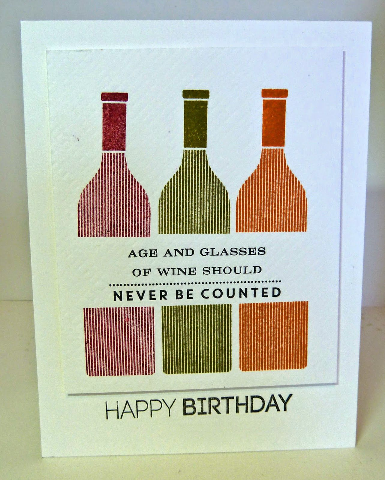 Elegant wine birthday card images eccleshallfc cards by the sea uncorked birthday cards papertrey bookmarktalkfo Image collections