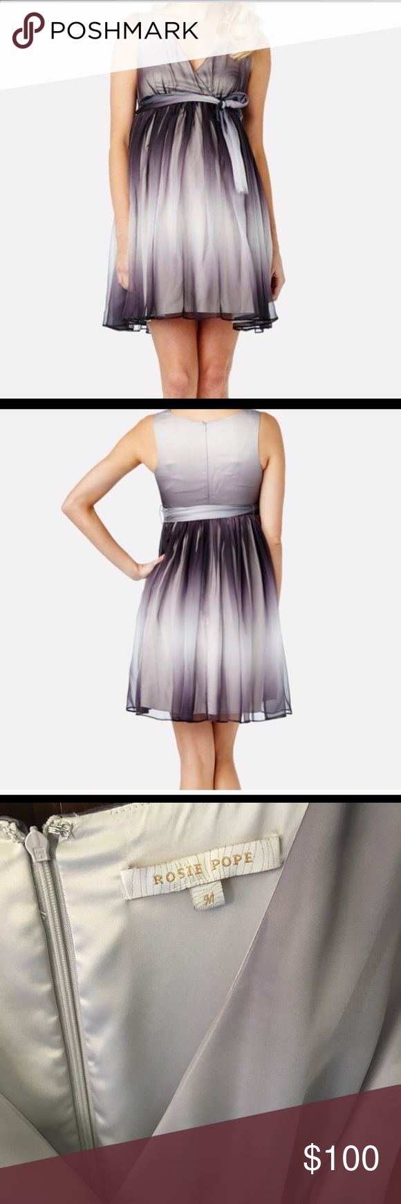 98d5883f1ad5e Rosie Pope Anabelle Maternity Dress Beautiful Rosie Pope Maternity Dress  Ombré Worn once Perfect for a wedding