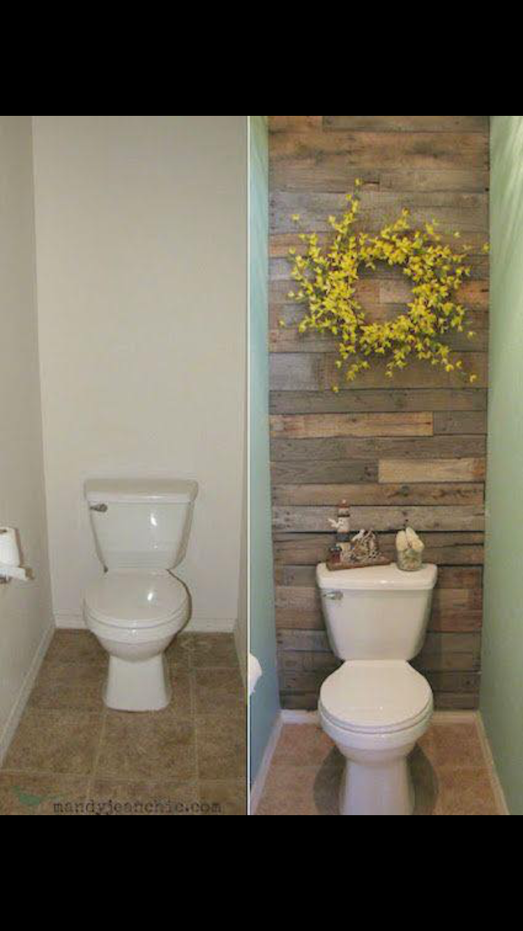 22 Ways To Boost And Refresh Your Bathroom By Adding Wood Accents: Pin By Jennifer Jarrett Wambsgans On House