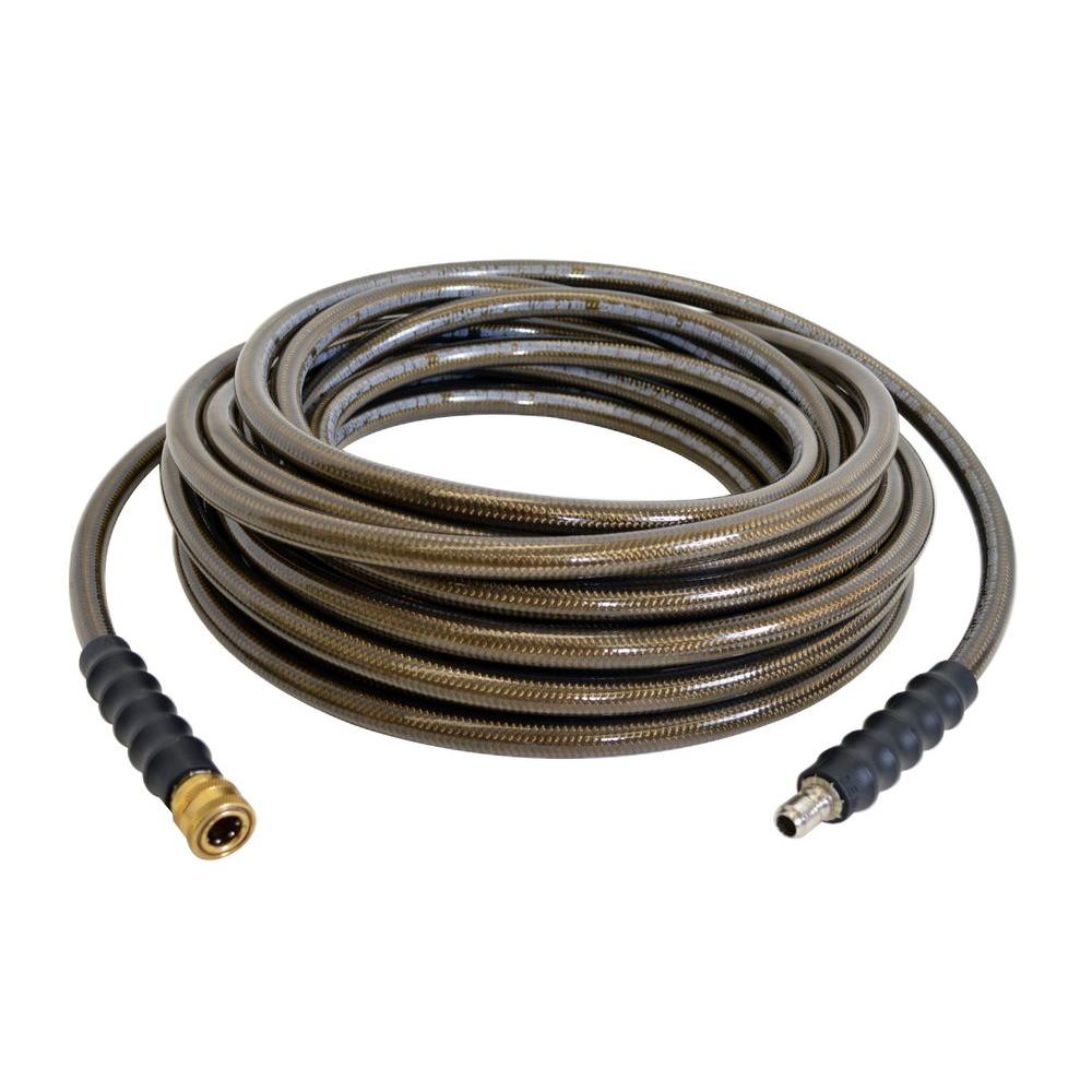Simpson 3 8 In X 50 Ft Monster High Pressure Hose 40150 Pressure Washer Accessories Washer Hoses Water Hose