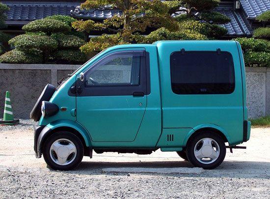 Daihatsu Midget Ii Cargo Malenkie Avtomobili Motokolyaska