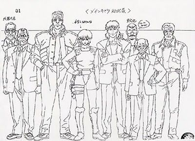 Living Lines Library Kokaku Kidotai Ghost In The Shell 1995 Ghost In The Shell Anime Character Design Character Design