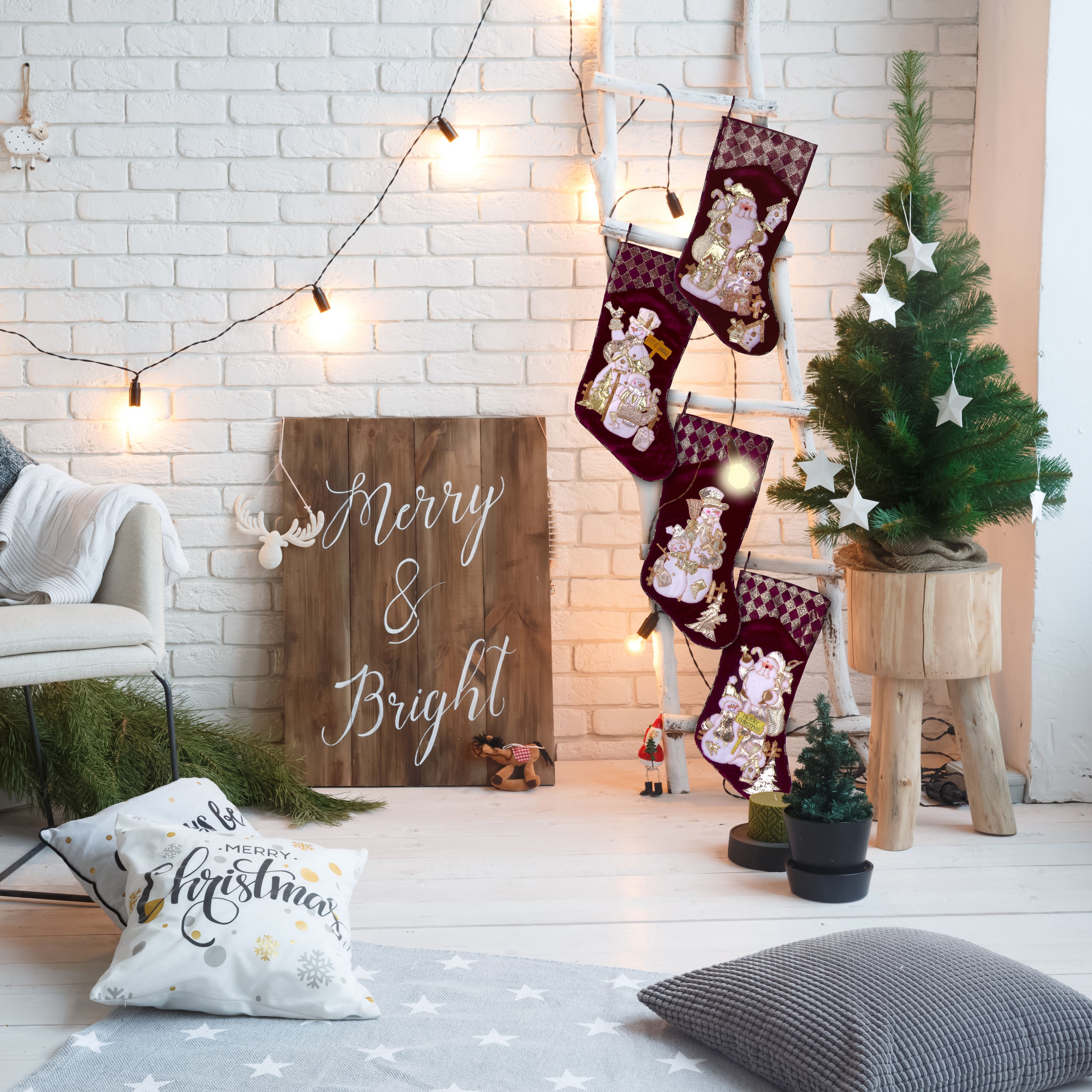 Christmas stocking decorations can fill your home with joy love