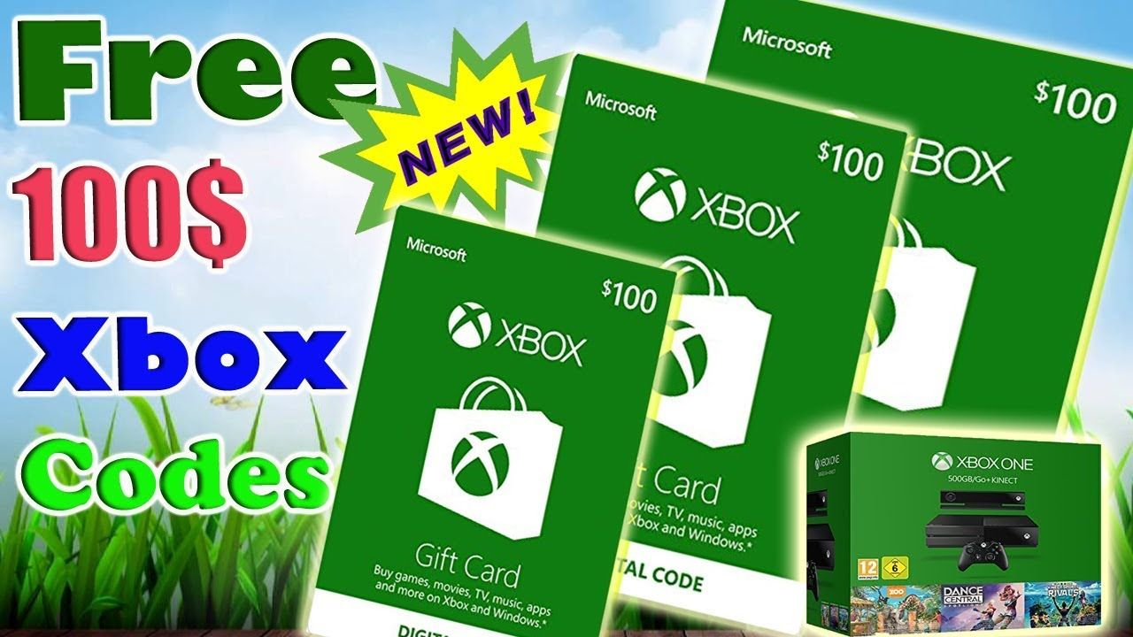 How To Get Free Xbox Gift Card Codes 2017 2018 2019 New