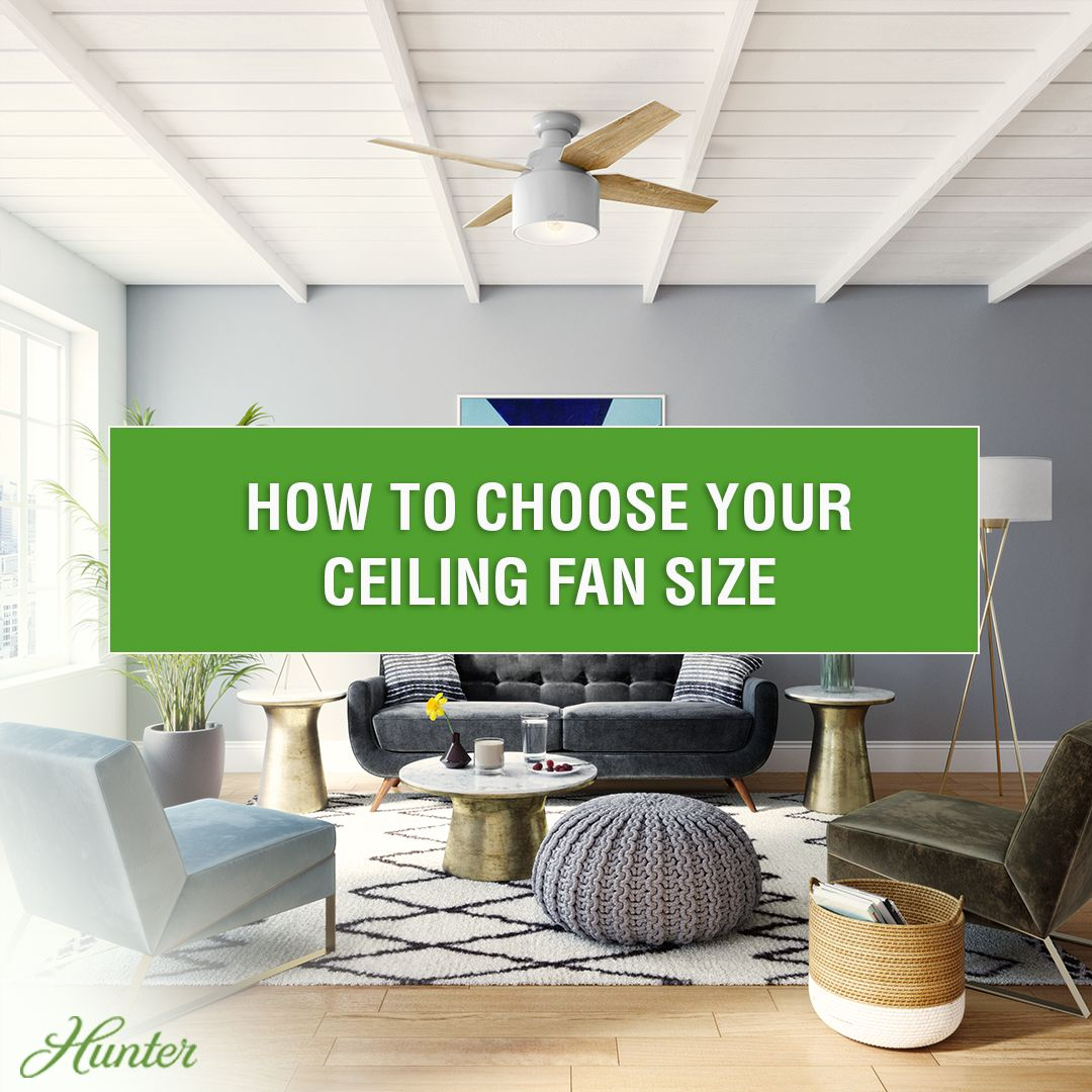 21+ Living room ceiling fan size information