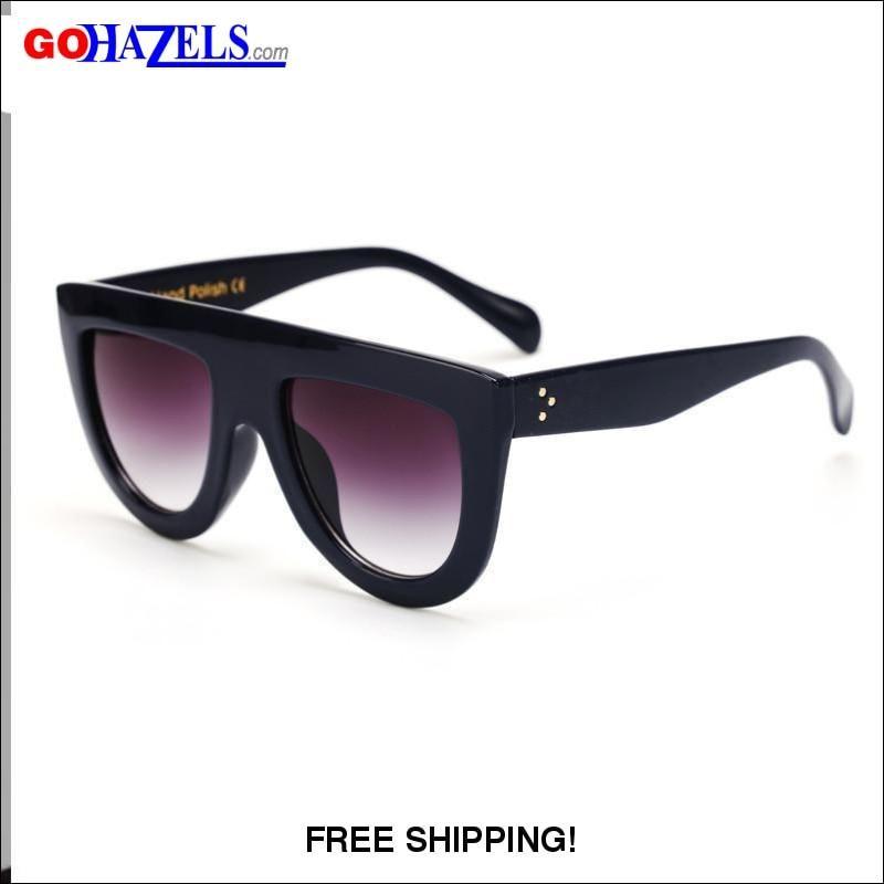 53dedc4d40c9a Designer Men   Women Flat Top Sunglasses (6 colors)