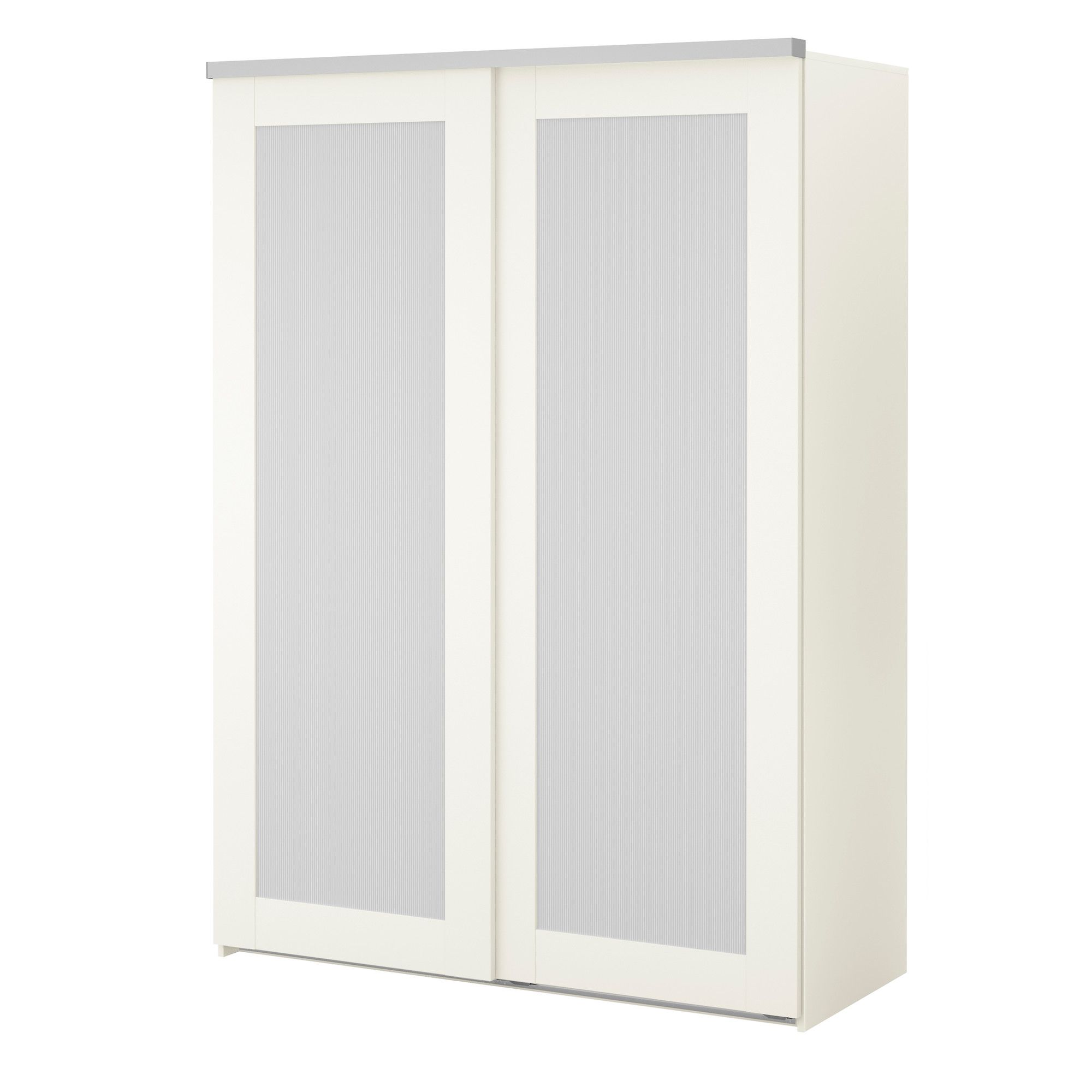 Perfect ELGÅ Wardrobe With 2 Sliding Doors   White/Aneboda White   IKEA Amazing Design