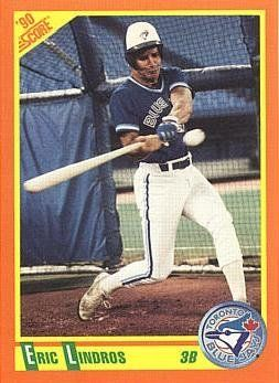 1990 Score Rt Baseball Eric Lindros Rookie Card By Score R