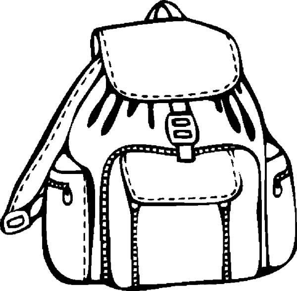 The Awesome Interesting Free Backpack Coloring Pages Coloring Alifiah Biz Coloring Pages Coloring Pages For Kids Backpacks