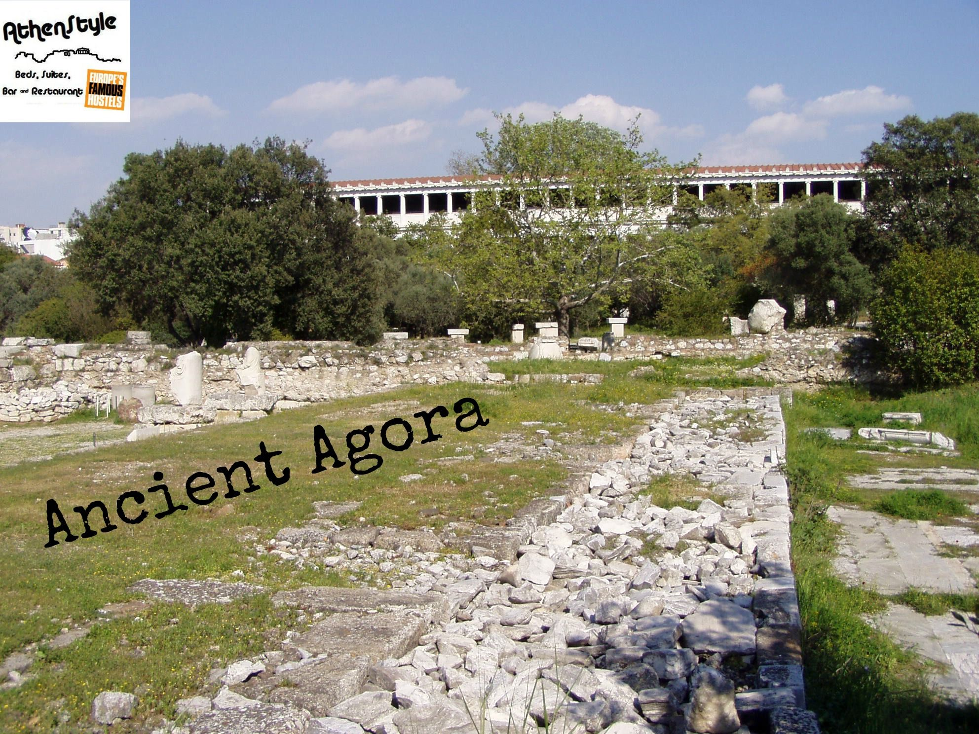 The Ancient Agora Of Classical Athens Is The Best Known Example Of