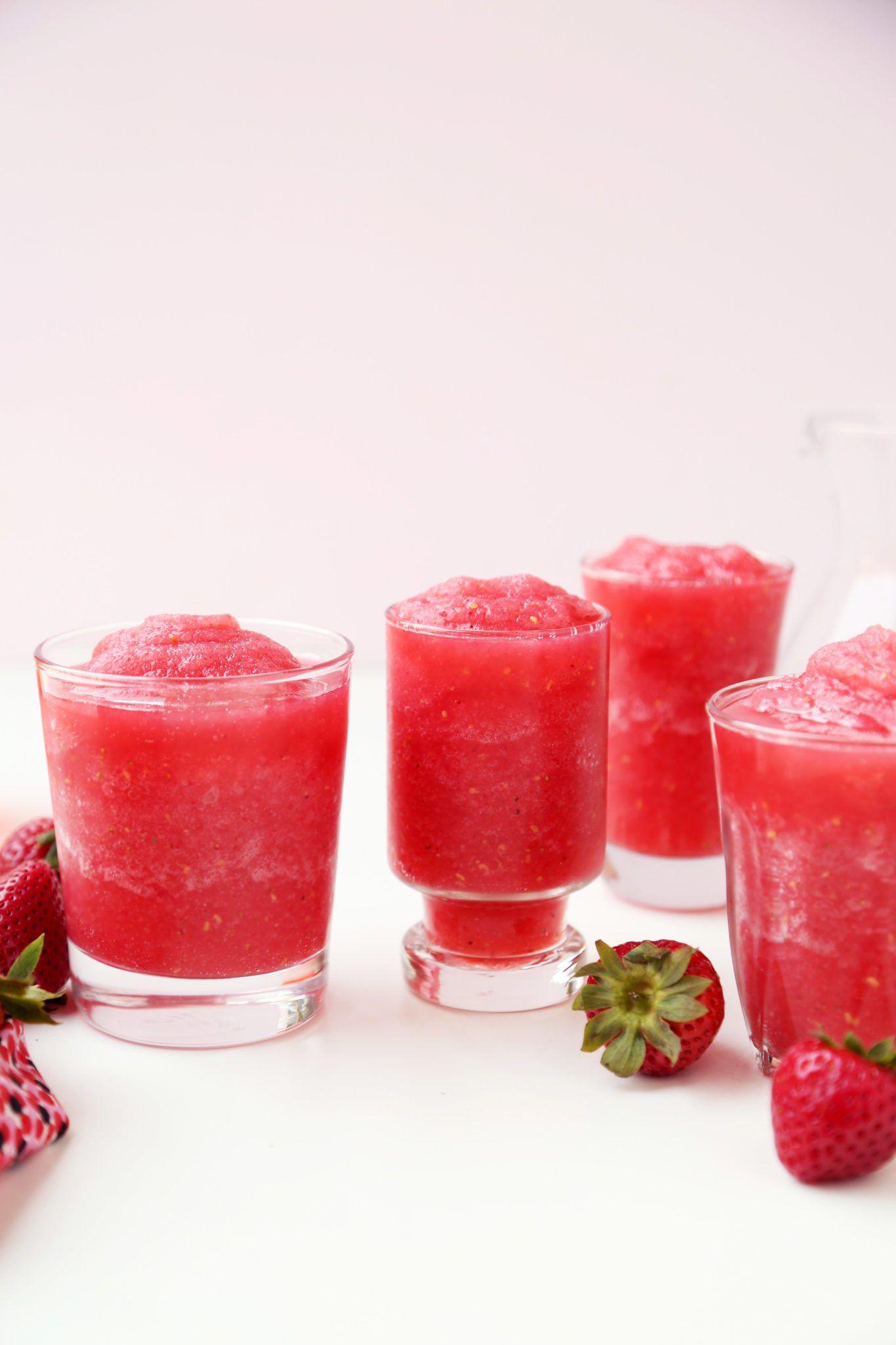 Strawberry Raspberry Rose Slushies Joy The Baker Recipe Slushies Joy The Baker Raspberry